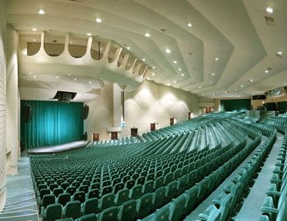 The acoustics are amazing.