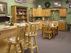 A Look At Amish Log Furniture