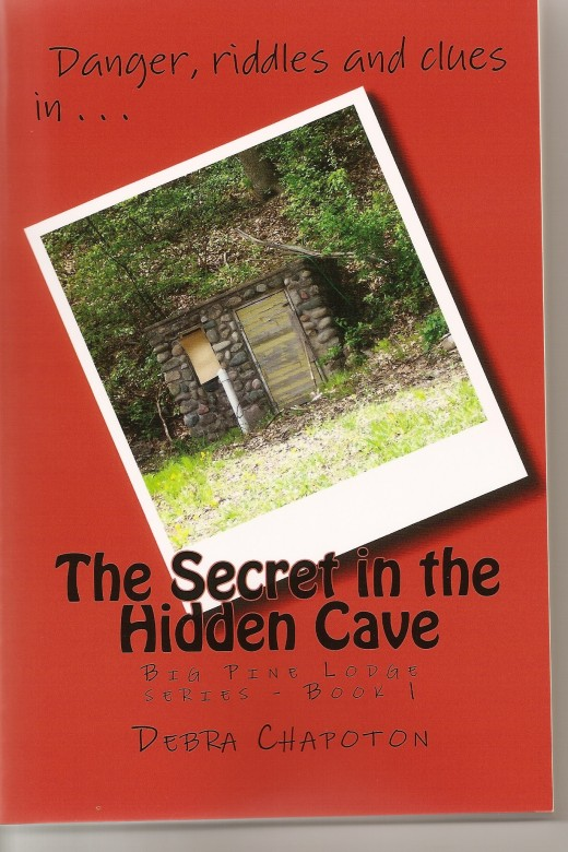 THE SECRET IN THE HIDDEN CAVE - surprising twists, high tech gizmos, riddles and clues - Can Missy and Kevin solve the riddles, follow the clues and save the old lodge from destruction? Or are they being used by someone smarter as they explore the ca