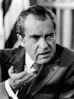President Nixon around the time he announced wage and price controls, August 1971