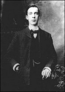 Willie Pearse executed after the Easter Rising 1916 in Ireland