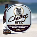 Chalky's Bite Beer by Sharps Brewery