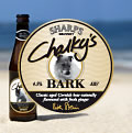 Chalky's Bark Beer by Sharps Brewery