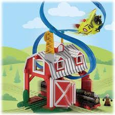 Geotrax Blast through Barn