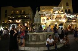 Aincient city of Rhodos