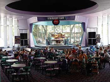 Cosmic ray's starlight cafe in Magic Kingdom