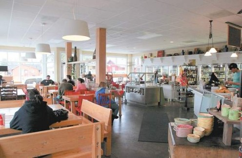 The interior of Jackson's Corner in Bend (photo credit: Bend Bulletin)
