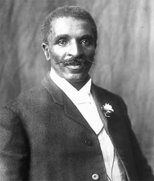 George Washington Carver, peanut research.
