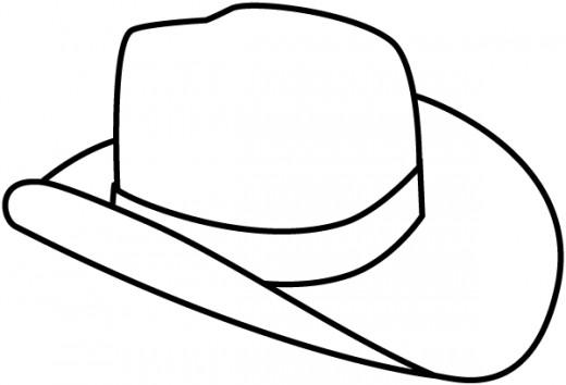 Source: http://www.leehansen.com/coloring/Rodeo/images/cowboy-hat2-clr.gif