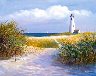Lighthouse Trail, by Jacqueline Penney, from art.com