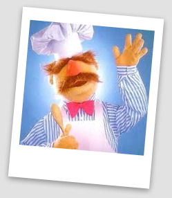 Guess who was jamming at the Jazz cellar... THE Swedish Chef