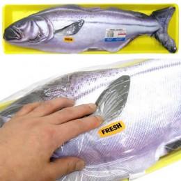 The fresh fish pillow