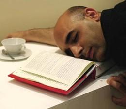 The book pillow