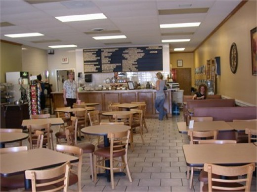 Cafe inside Life Grocery- Marietta Georgia