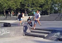 City Children at a Skate Park (Image Source: David Shankbone, Wikimedia Commons)