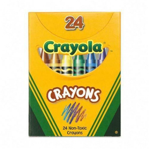 Crayola Crayons Halloween Pumpkin Coloring Demonstration.    Image - Amazon.com