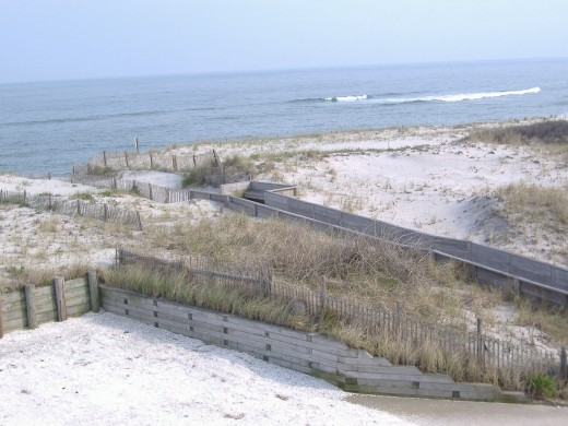 A VIEW FROM A HOTEL WE RENTED LAST YEAR ON LONG BEACH ISLAND - SHIP BOTTOM