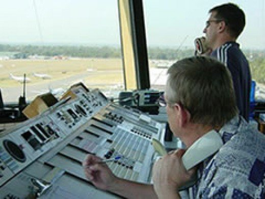 People of Reggie's ilk: Air-traffic controllers in the tower