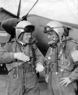 McNay and Bluitt at Nowra Naval Airforce Base