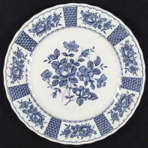 Myott china Melody Blue