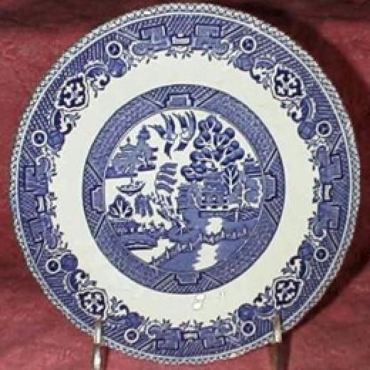 Myott china Old Willow