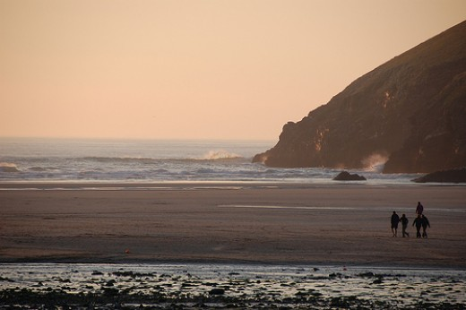 Luxury Spas in Cornwall with Sea Views: Mawgan Porth Beach