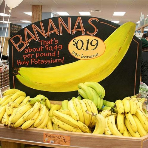 I love Bananas! Fresh from Trader Joe's