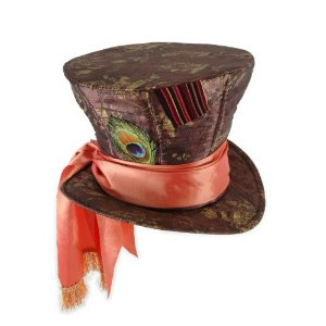 Mad Hatter Halloween costume hat for adult