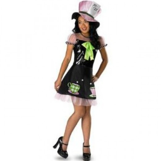 Mad Hatter costume for child - girl