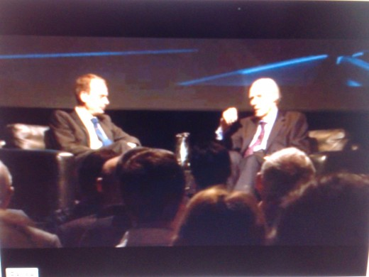 Sir George in conversation with Andrew Marr