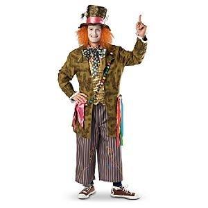 Alice in Wonderland Mad Hatter Costume for Adult