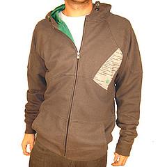 sweatshirt made from hemp