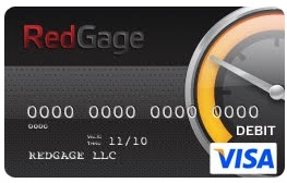 The RedGage Visa Card
