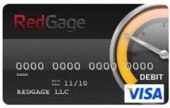The RedGage Visa Card