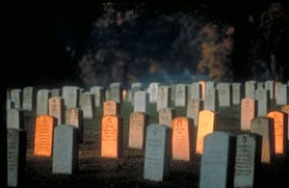 Arlington National Cemetery is supposed to have its share of ghosts and paranormal activity.