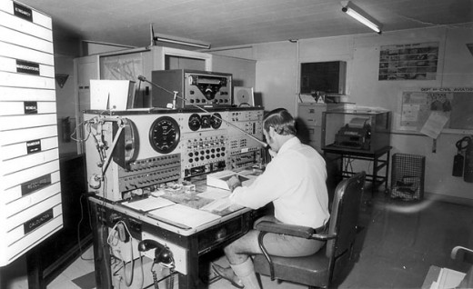 Typical Aeradio Room of the 1960s