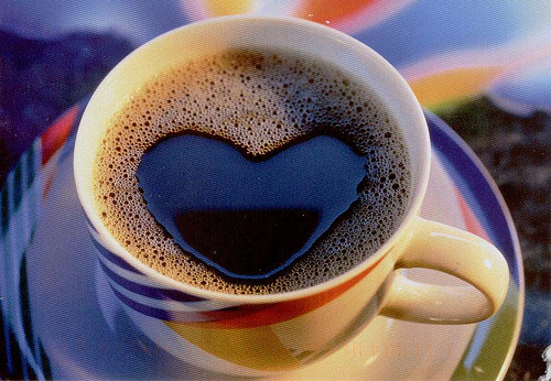 A coffee with a side of my love?