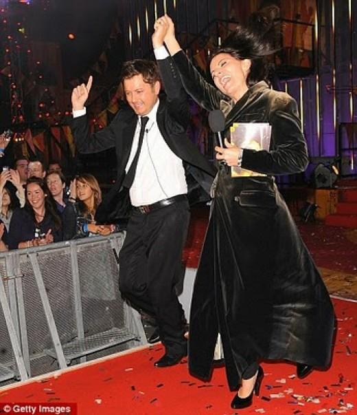 Brian with Davina