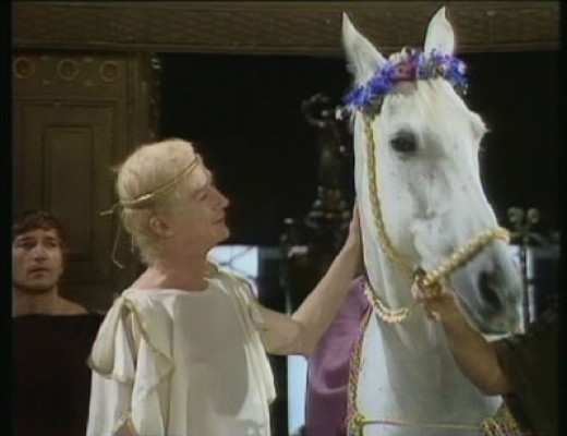 Rome 40B.C. Exponentially insane, Caligula appoints his beloved horse Incitatus to the elevated position of consul and priest.(yes, it really happened)