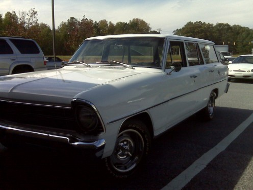 1967 Novs wagon all original donated for the fund raiser