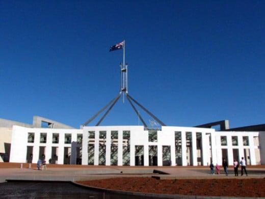 Australian Federal Parliament House Canberra