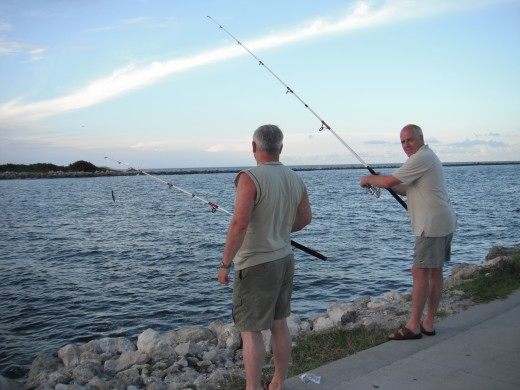 Fishing is a great way to experience the benefit of negative ions.