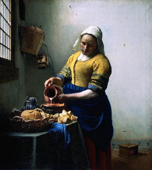 Melkmeisje by Vermeer - Delft