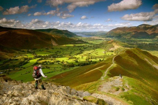 Lake District, near Keswick, England. From pixdaus.com
