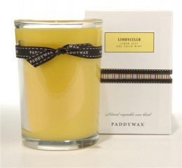 And now an example of a soy wax candle, also by Paddywax