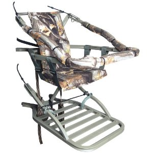 The most important thing to any tree stand hunter, the stand must be easy to put in a tree when it is dark, cold and quickly.