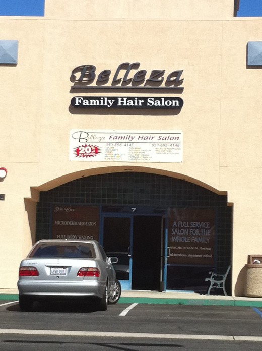 A great place to bring the whole family to satisfy their every beauty need, Belleza Hair Salon in Murrieta.