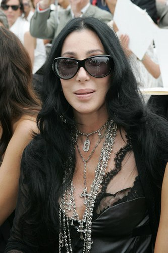 A more flattering recent photo of Cher.