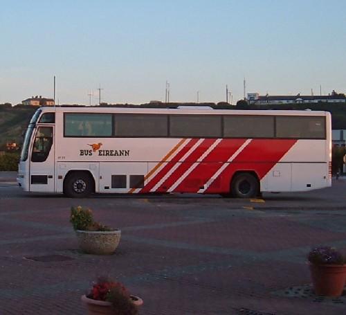 Eireann bus from Dublin to Rosslare