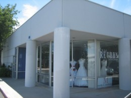 Storefront for the exclusive Elyse Reuben designer gowns.
